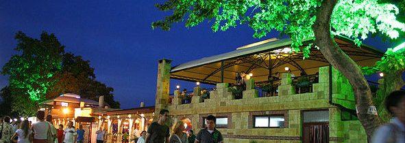 Beach restaurant La Balena
