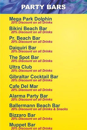 golden sands bars discounts