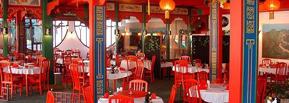 Chinese restaurant Wealthy place