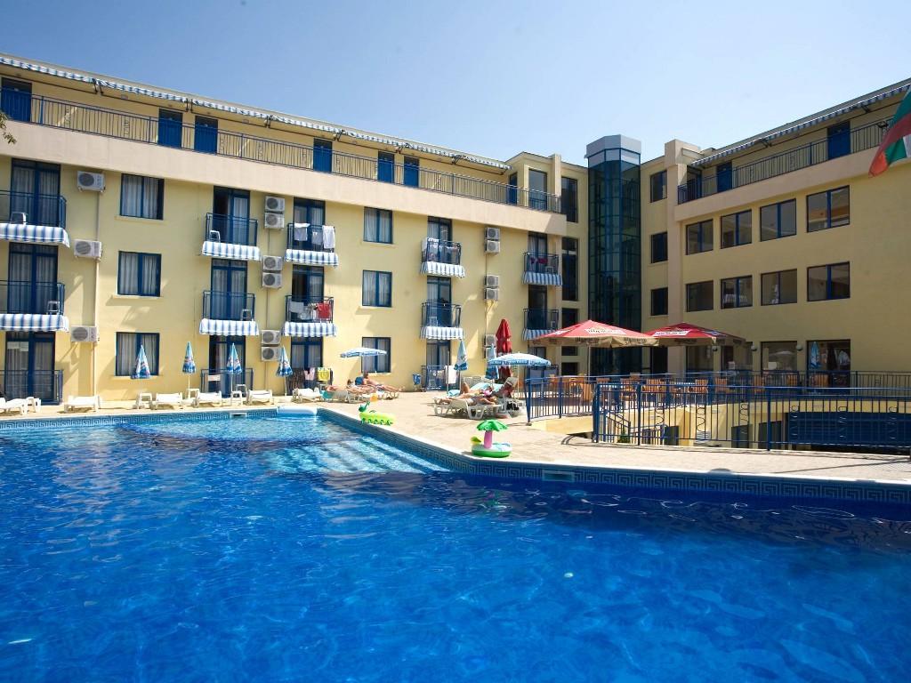 Blue Sky Hotel in Golden Sands Bulgaria