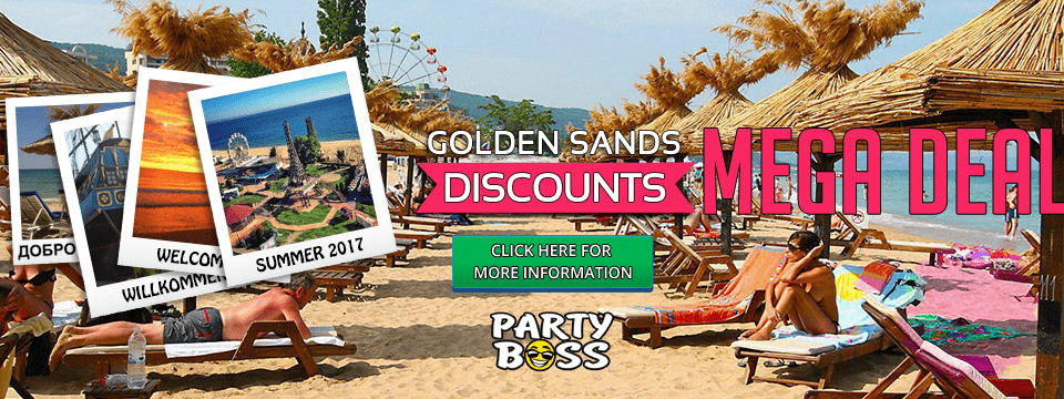 Offer 2 – Mega Discounts for Golden Sands 2017